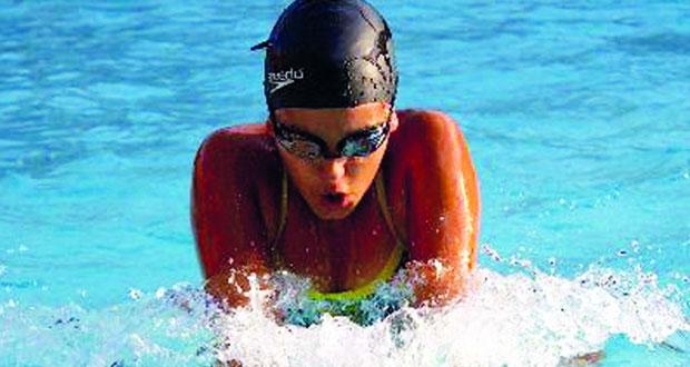 دانيا سباحة شابة تحلم بأن ترفع علم ليبيا في الأولمبياد