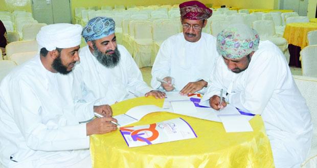 حلقة عمل حول إدارة الهيئات الرياضية الخاصة من التخطيط إلى التنفيذ بشمال الشرقية