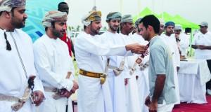أداء رائع للمنتخبات المشاركة بالبطولة الخليجية لالتقاط الأوتاد بظفار