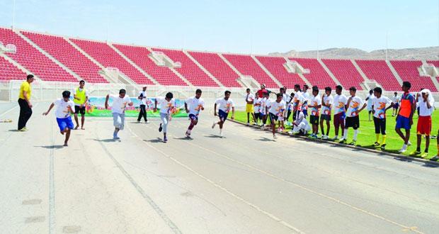 وزارة الشؤون الرياضية تفتح اليوم التسجيل لمراكز صيف الرياضة 2016م