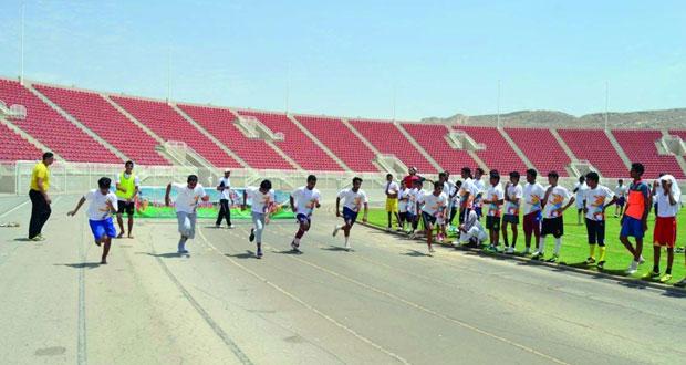 """اليوم افتتاح مراكز تدريب """"صيف الرياضة """"في مختلف محافظات السلطنة"""
