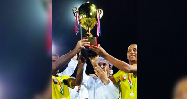 فريق البستان يخطف لقب بطولة نادي أهلي سداب