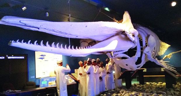 شباب أندية جنوب الباطنة في رحلة استكشافية لمتحف التاريخ الطبيعي