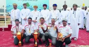 تتويج منتخبنا الوطني بطلاً للخليج بـ 13 ميدالية منها سبع ذهبيات وأربع فضيات وثلاث برونزيات