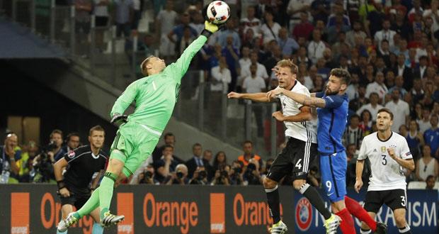 ديوك فرنسا ترد اعتبارها أمام الماكينات الالمانية وتصل الى النهائي الثالث في تاريخها