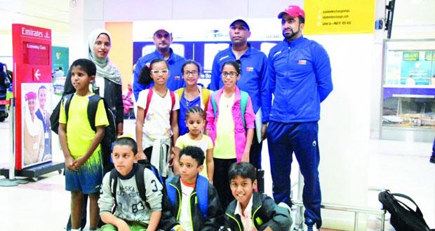 منتخب التنس يطير إلى مصر للمشاركة في بطولة القافلة العربية