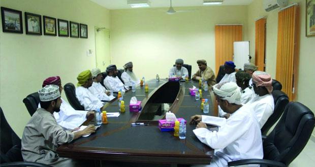 سالم الوهيبي يلتقي أعضاء مجلس إدارة نادي قريات