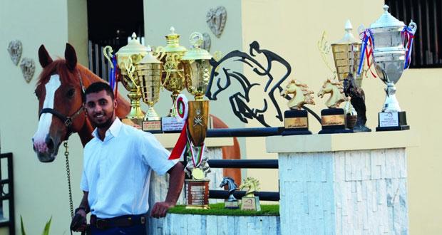 تألق الفارس الأولمبي سلطان الطوقي في أولى المسابقات الرسمية الأوربية بهولندا