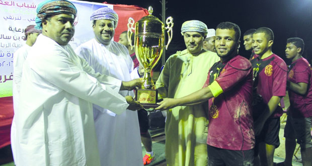 فريق طيبة الرياضي يحرز لقب بطولة شباب العفية الكروية الرمضانية