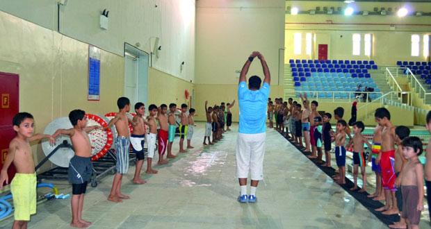 انطلاق مراكز التدريب لبرنامج صيف الرياضة بمحافظة الداخلية