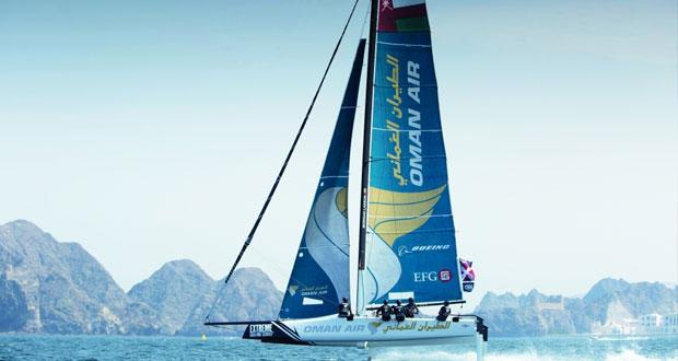 قارب الطيران العماني يتأهب لتحديات جديدة في مضمار السباق بهامبورج