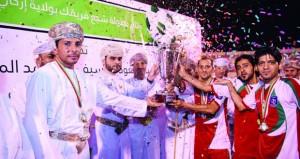شباب إزكي يتوج بطلا للمرة الثالثة ببطولة شجع فريقك بإزكـــي