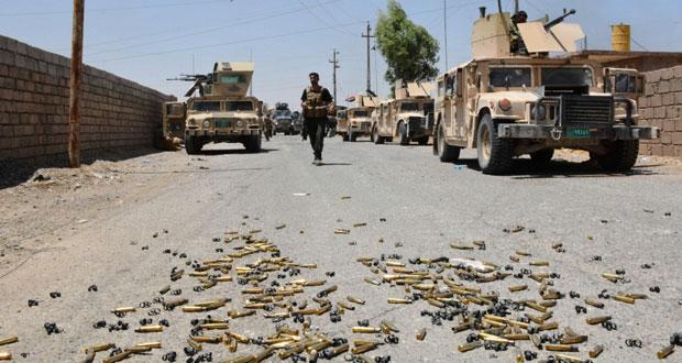 العراق: الجيش يتقدم قرب (الشرقاط) ويحتفل بـ(الانتصارات)