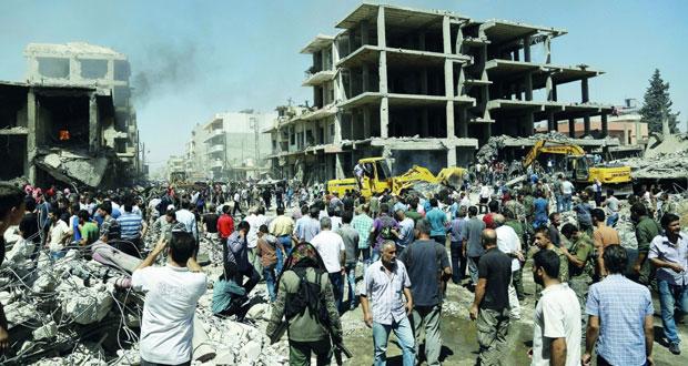 سوريا: الإرهاب يضرب القامشلي والجيش يقطع طرق إمداد المسلحين بحلب