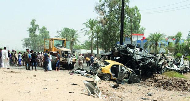 العراق: مفخخة تحصد 16 بينهم نساء وأطفال بديالى