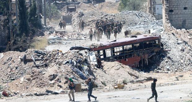سوريا : الجيش يحكم السيطرة على «بني زيد» و«معامل الليرمون» بحلب