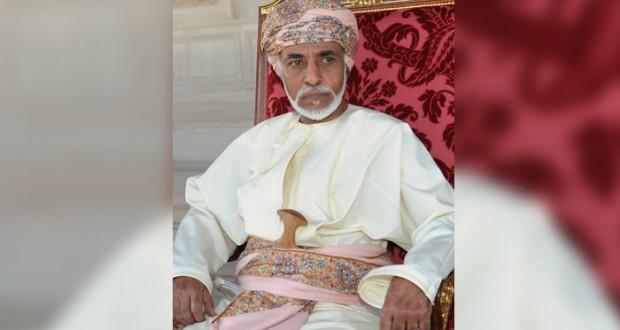 جلالة السلطان يتبادل برقيات التهاني مع قادة الدول العربية والإسلامية بمناسبة عيد الفطر