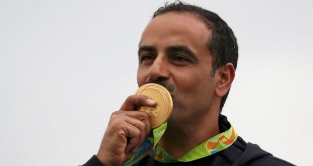 الكويتي فهيد الديحاني يحرز الذهبية العربية الاولى في أولمبياد ريو