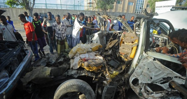 7 قتلى في هجوم لـ (الشباب) على مطعم بمقديشو