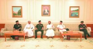 وفد كلية الدفاع الوطني الهندية يزور مجلس الدولة