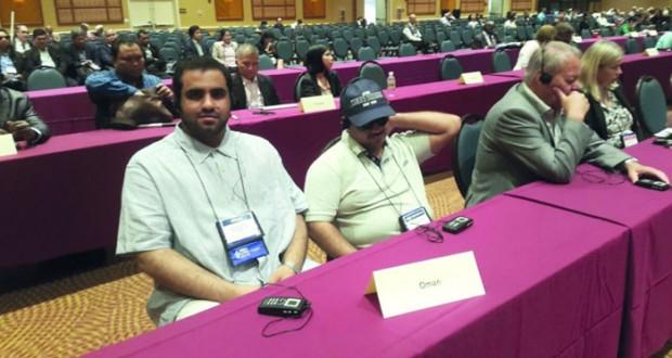 جمعية النور للمكفوفين تواصل مشاركتها في أعمال الجمعية العامة للاتحاد العالمي للمكفوفين بأميركا
