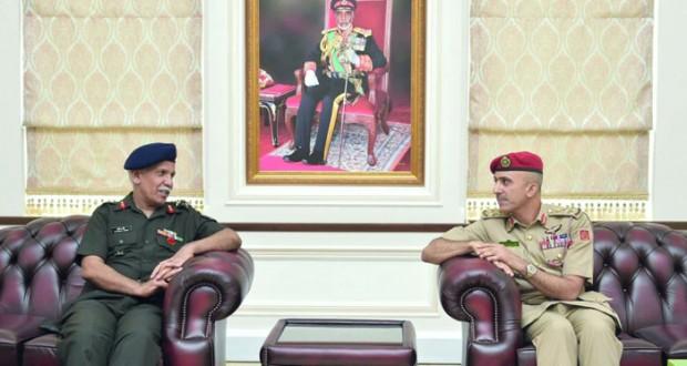 وفد كلية الدفاع الوطني الهندي يزور كلية الدفاع الوطني
