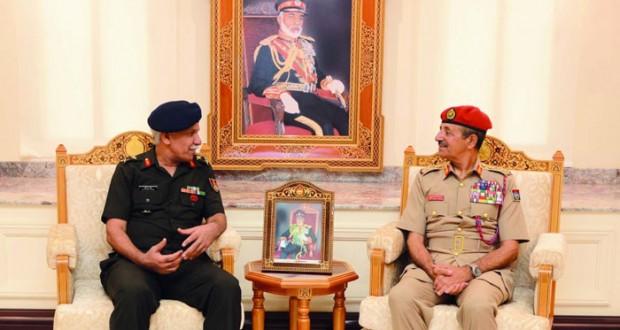 رئيس الاركان يستقبل مسؤولين عسكريين من أميركا وجنوب أفريقيا والهند