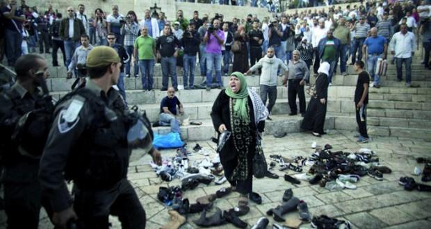 المجلس الوطني الفلسطيني يشدد على أن (الأقصى) غير قابل للقسمة أو المشاركة مع الاحتلال