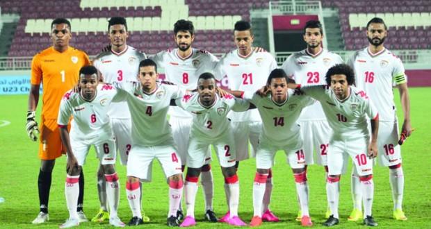 منتخبنا الأولمبي الكروي يطير اليوم إلى الدوحة لملاقاة البحرين الأربعاء