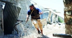 أميركا تبدأ تدخلا عسكريا في ليبيا