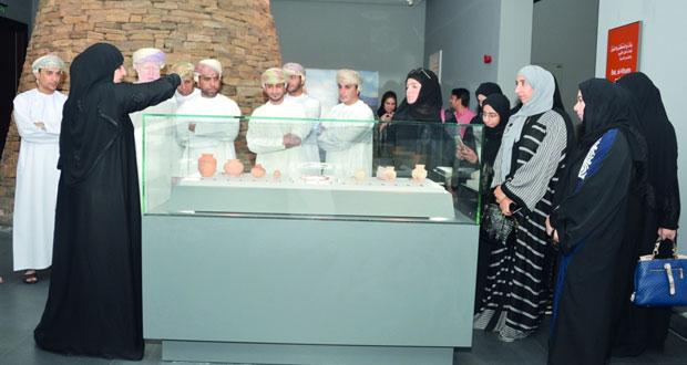 7113 زائرًا للمتحف الوطني في الشهر الأول من افتتاحه لعموم الزوار القائم بأعمال