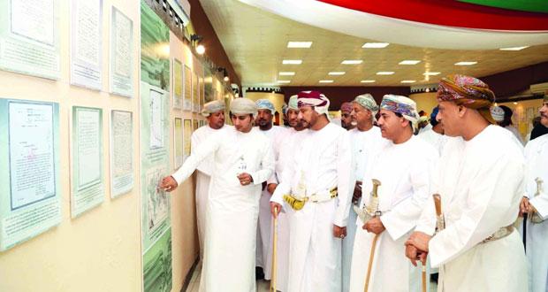 افتتاح المعرض الوثائقي (عمان تاريخ وحضارة) بمركز البلدية الترفيهي بصلالة