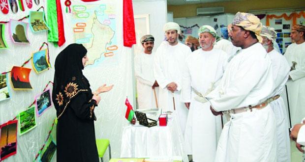 كلية السلطان قابوس لتعليم اللغة العربية للناطقين بغيرها تنظم احتفالية ثقافية لطلابها