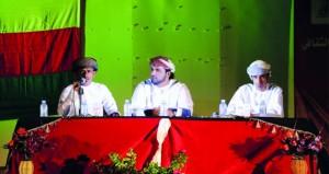 الملتقى الثقافي الأول بمرباط يحتفي بمجيدي الولاية