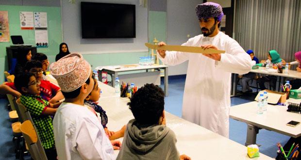 مركز التعلم بالمتحف الوطني يكثف البرامج والأنشطة التعليمية ويستعد لتنفيذ برامج تستهدف العائلات