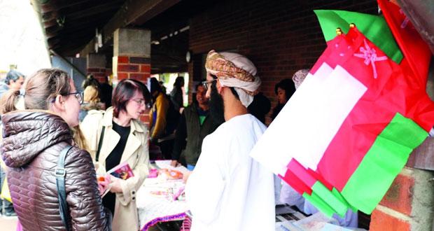 طلبة السلطنة يشاركون في اليوم الثقافي لجامعة كيرتن بغرب أستراليا
