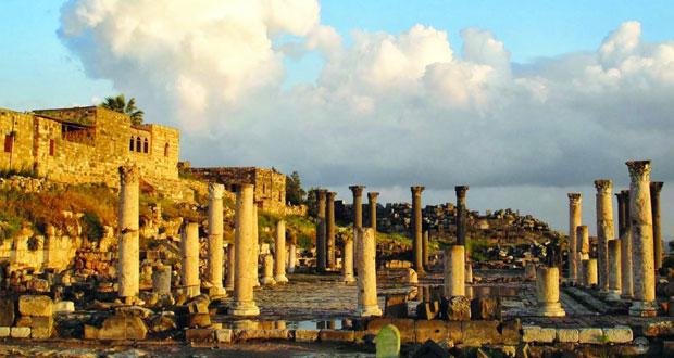 أم قيس مدينة الفن والإبداع الرومانية في الأردن