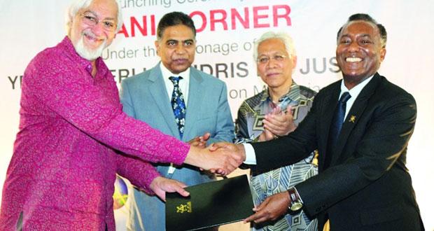 افتتاح أول ركن ثقافي عماني بجامعة APU الماليزية