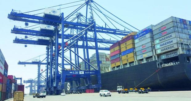 18.6% نموا في حجم الحاويات بميناء صحار خلال النصف الأول