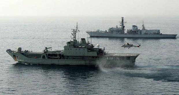 سلاح الجو والبحرية السلطانية ينفذان عمليتي إنقاذ