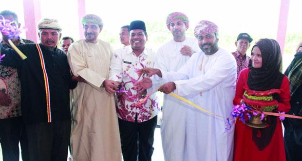 افتتاح القرية العمانية فـي إقليم غرب سومطرة بأندونيسيا