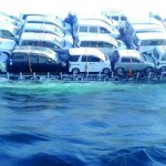 غرق سفينة تجارية هندية في المياه الاقليمية للسلطنة وإنقاذ جميع طاقمها