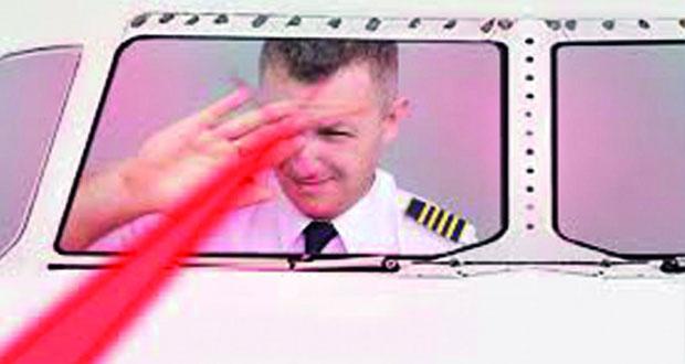 مدير عام طيران الشرطة: إطلاق شعاع الليزر باتجاه الطائرات يُعد مصدر خطر لسلامتها