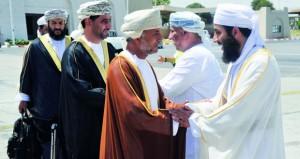 بعثة الحج العمانية تصل الديار المقدسة