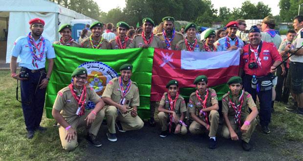 افتتاح المخيم الأوروبي المركزي ببولندا بمشاركة كشافة السلطنة
