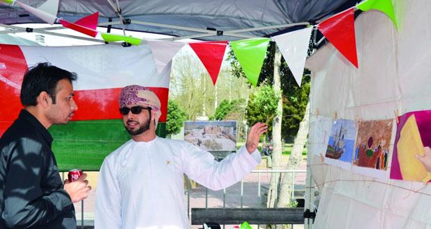طلبة السلطنة ينظمون ركناً في اليوم الإسلامي المفتوح في نيوزلندا
