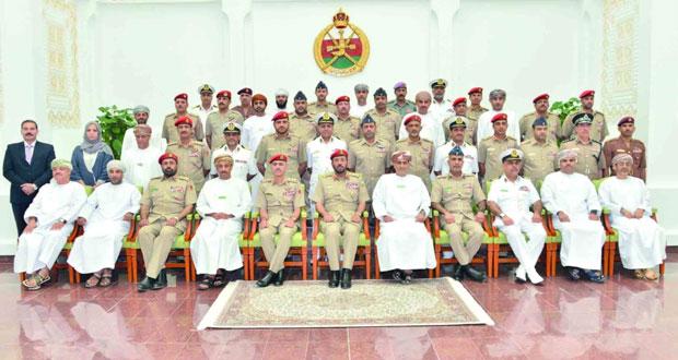 كلية الدفاع الوطني تحتفل بافتتاح أعمال دورة الدفاع الوطني الرابعة