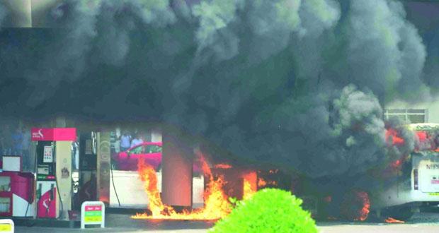 3684 حادث حريق تعاملت معها الهيئة العامة للدفاع المدني والإسعاف .. العام الماضي
