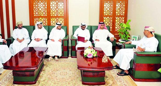 المدعي العام يستقبل الوفد القضائي الإماراتي
