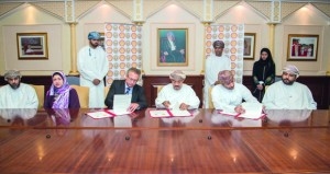 توقيع اتفاقية تعاون بين جامعة السلطان قابوس وشركة شل للتنمية